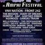 Amphi-Festival zieht um und bestätigt erste Bands für 2015