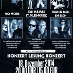 Veranstaltungshinweis: Music Experience VIII am 18.12. in Dortmund mit Kai Havaii/Stefan Kleinkrieg (Extrabreit), No More, Mona Mur & En Esch