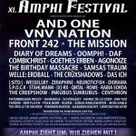 Neue Bandbestätigungen des Amphi-Festivals