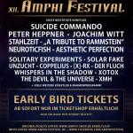 XII. Amphi Festival 2016 – die ersten Bands!