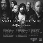 Swallow The Sun & Wolfheart: Nordmänner auf Europa-Tour!