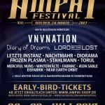Erste Bandbestätigungen fürs XIII. Amphi Festival 2017
