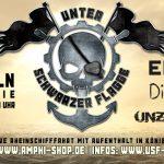 """""""Unter Schwarzer Flagge"""" – Festival auf dem Rhein"""