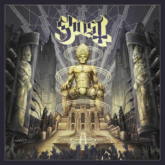 Live-Album von Ghost bald auch als CD und LP