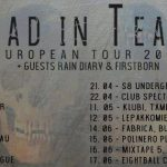 Vlad In Tears, Rain Diary & Firstborn touren gemeinsam