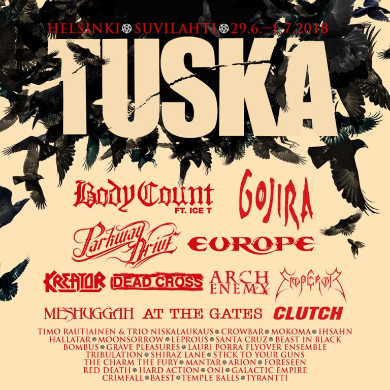 Tuska 2018 – die bisher bestätigten Bands